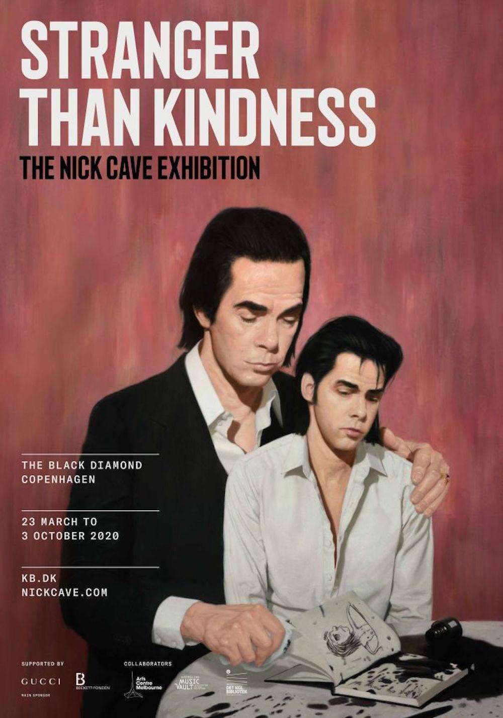 nick cave exhibition stranger kindness copenhagen Nick Cave announces illustrated autobiography Stranger Than Kindness