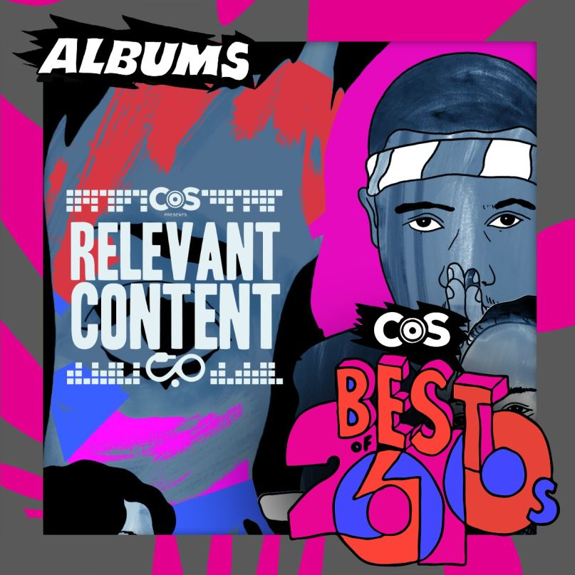 Relevant Content: The Top 100 Albums of the 2010s, artwork by Steven Fiche