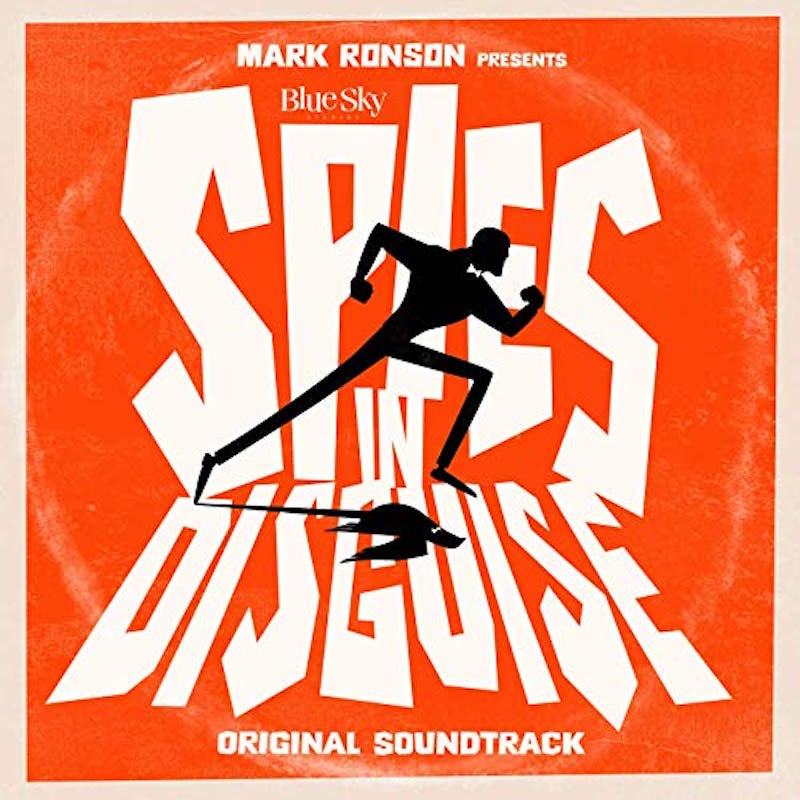 ronson spies disguise soundtrack artwork Mark Ronson announces Spies in Disguise soundtrack, shares Anderson. Paak collaboration Then There Were Two: Stream