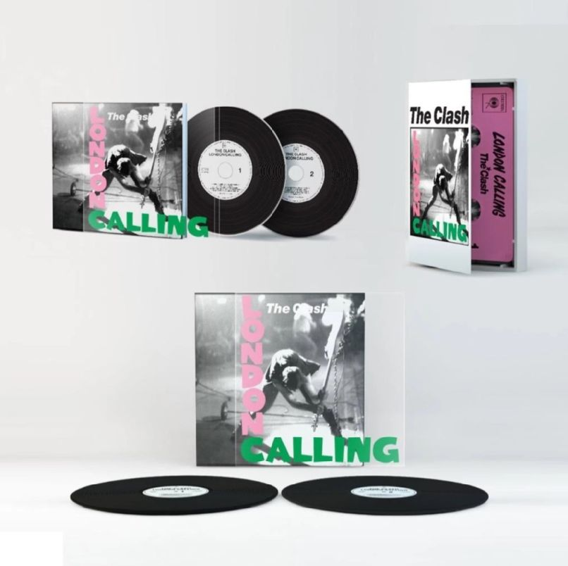The Clash, London Calling Bundle, Giveaway, Punk, '70s Punk, Sony Legacy