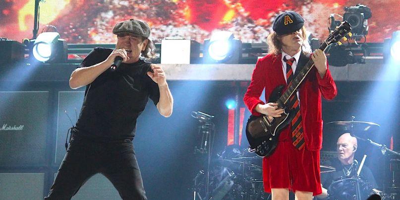 AC/DC Back in Black 25x Platinum