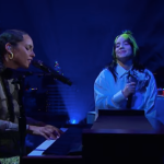 Alicia Keys Billie Eilish Ocean Eyes Duet Cover Stream Watch The Late Late Show James Corden