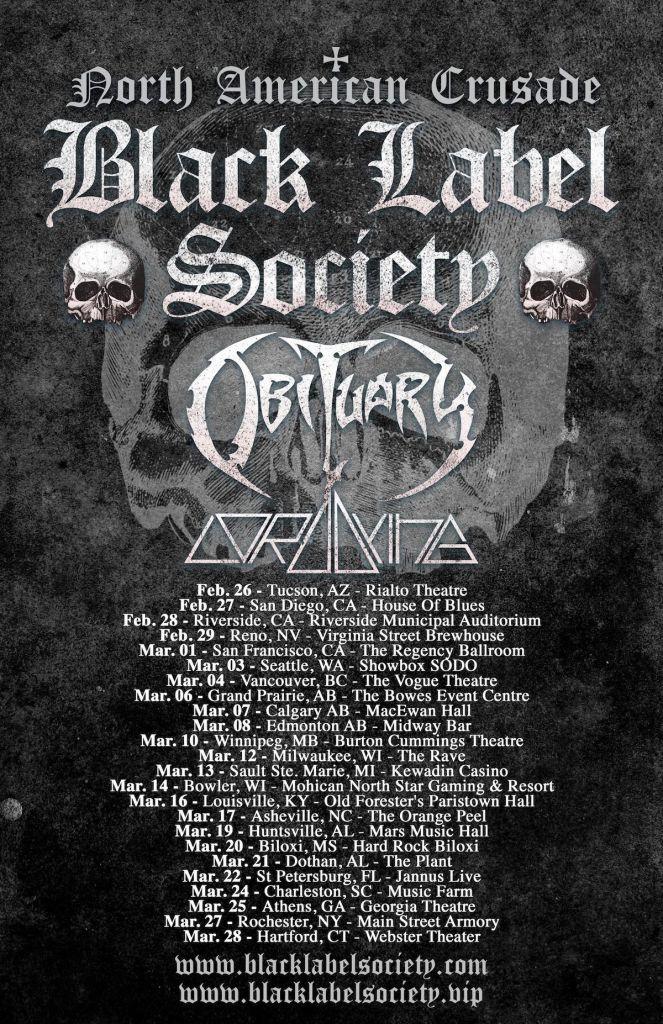 BLS tour poster 2020