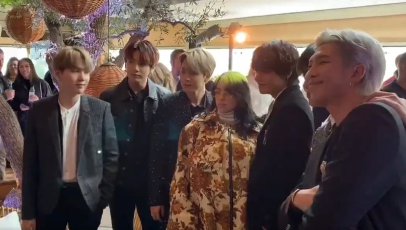 BTS with Billie Eilish