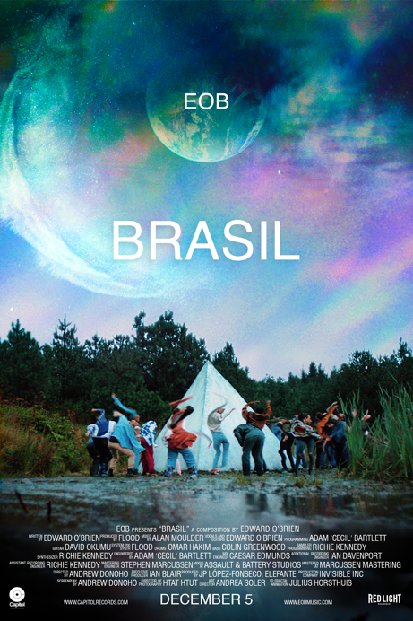EOB Ed O'Brien Radiohead Brasil short film artwork
