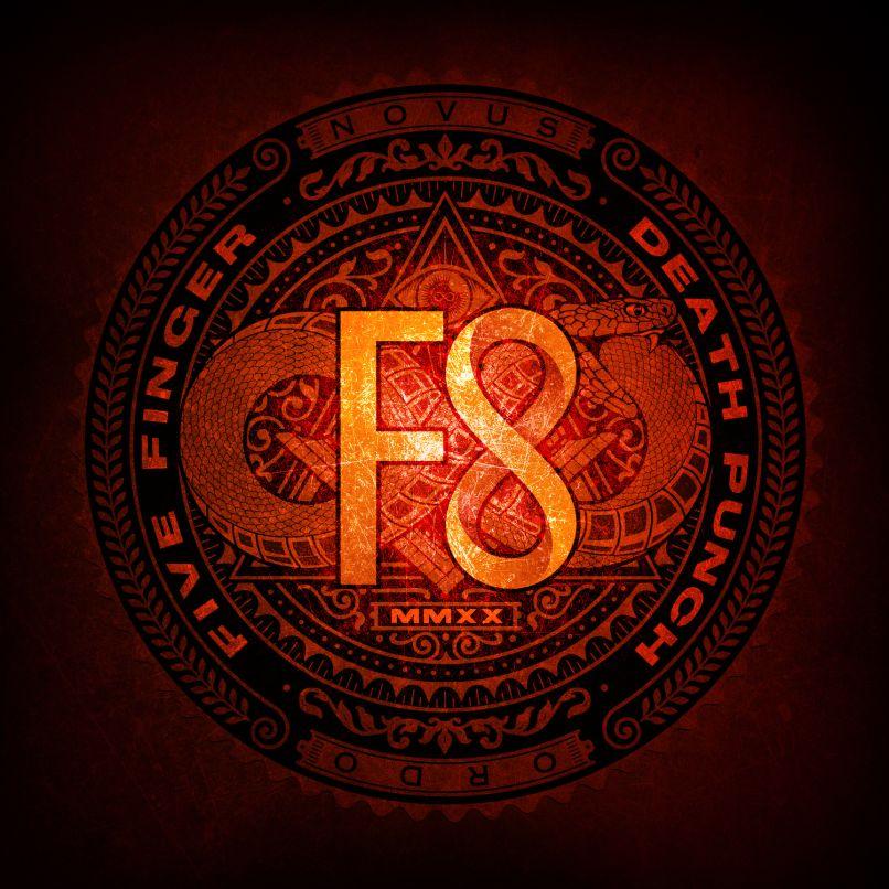 Five Finger Death Punch F8 album cover