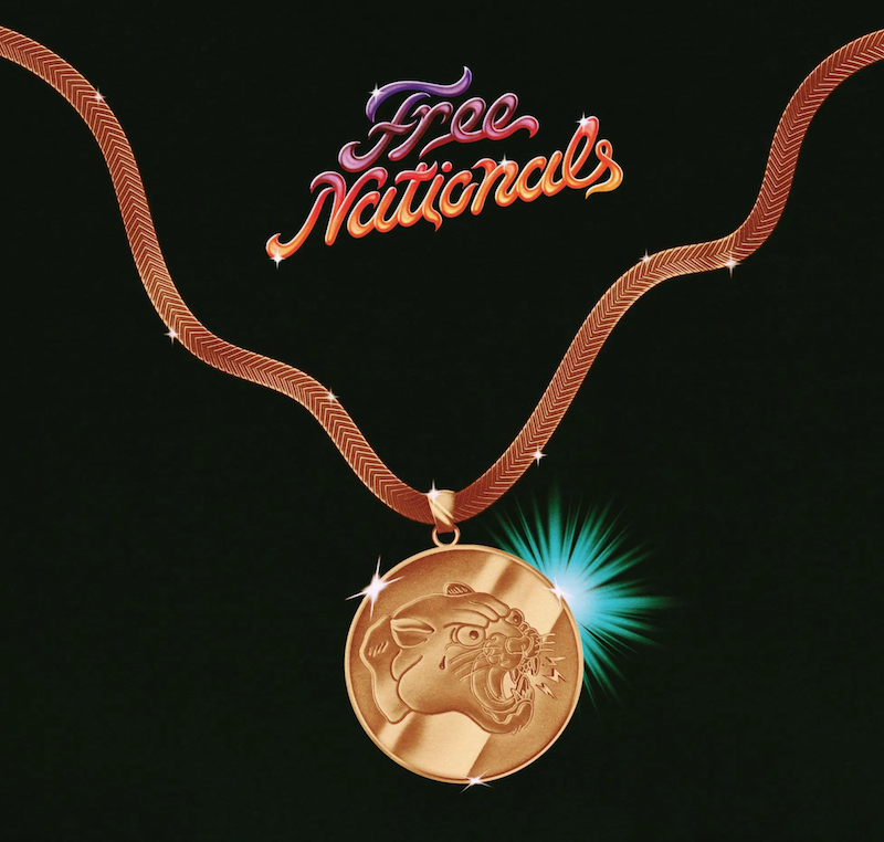 Free Nationals Self-Titled Album Artwork