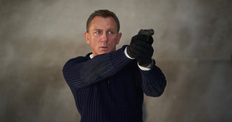 Daniel Craig as James Bond in No Time to Die