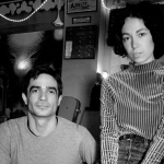 Jon Hopkins and Kelly Lee Owens, photo by Matthew Mumford