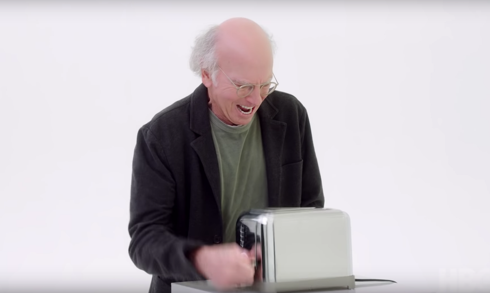 It's Larry vs. a toaster in first teaser for Curb Your Enthusiasm season 10: Watch