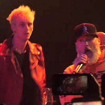 Machine Gun Kelly joins Limp Bizkit for Break Stuff