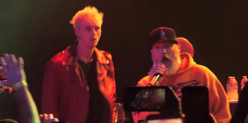 Machine Gun Kelly joins Limp Bizkit for Break Stuff