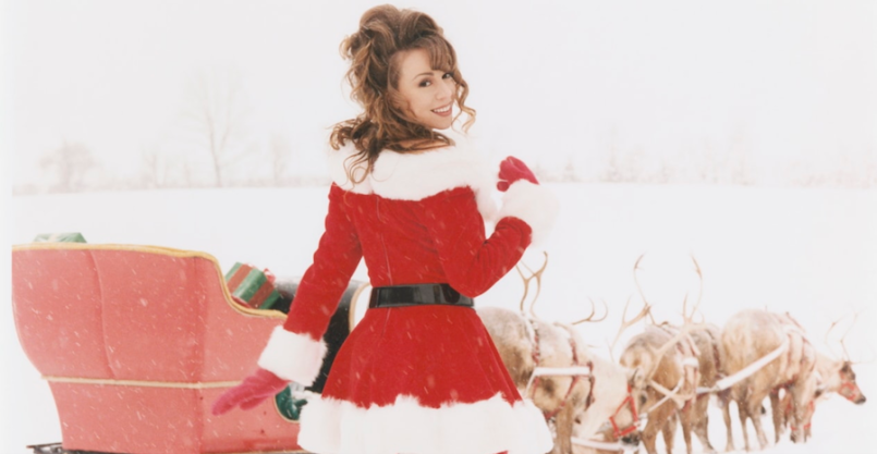 Mariah Carey All I Want For Christmas Billboard Charts No. 1 25th anniversary