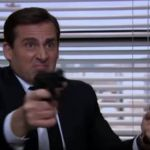 Michael Scorn in Threat Level Midnight
