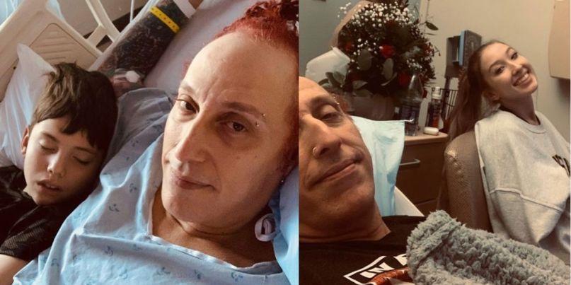 Morgan Rose in hospital