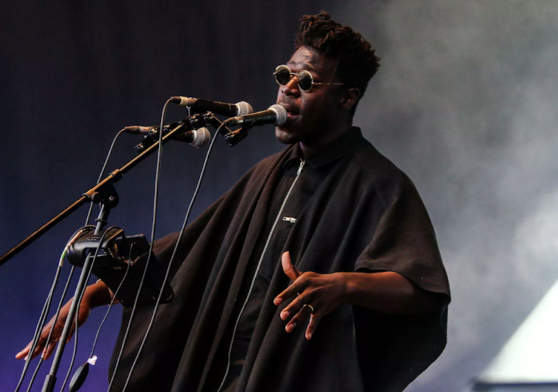 Polly new song stream Moses Sumney, photo by Nina Corcoran