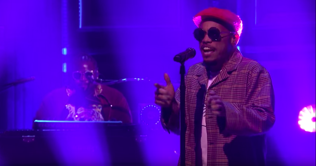 "The Free Nationals and Anderson .Paak play ""Gidget"" on Fallon: Watch"