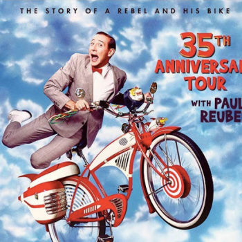 Paul Reubens Pee-Wee's Big Adventure 35th Anniversary Tour