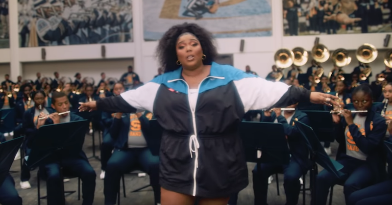 """Lizzo leads a marching band in jubilant new """"Good as Hell"""" video: Watch"""