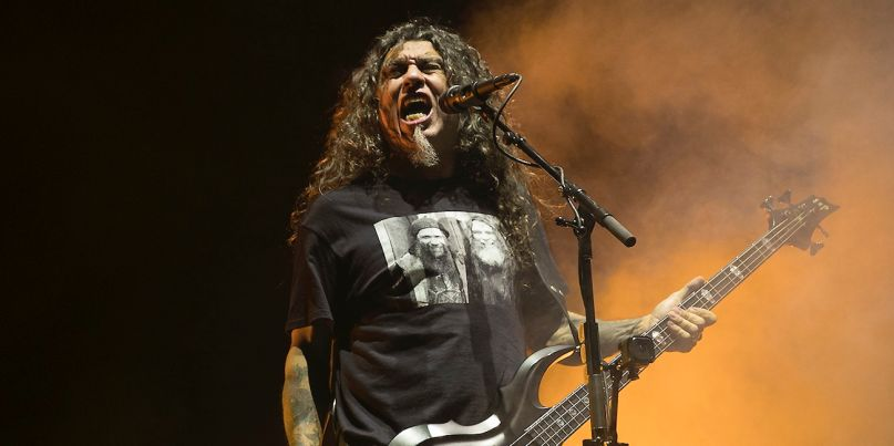 Slayer perform final show at The Forum