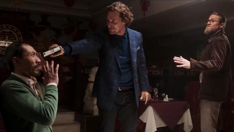 Guy Ritchie film The Gentlemen new movie trailer Matthew McConaughey