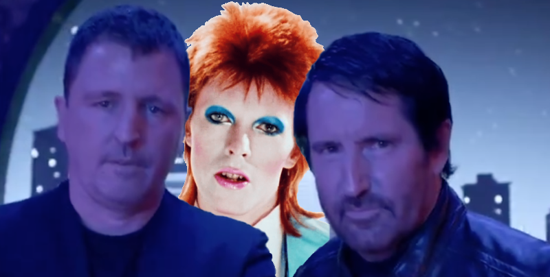 """Trent Reznor and Atticus Ross deliver cover of David Bowie's """"Life on Mars"""" for Watchmen: Stream"""