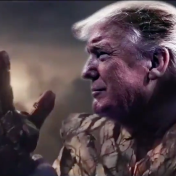 Trump as Thanos, MCU Jim Starlin edited video Avengers Endgame