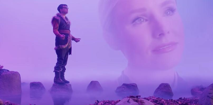 "Kristen Bell joins Weezer in video for Frozen 2 track ""Lost in the Woods"": Watch"