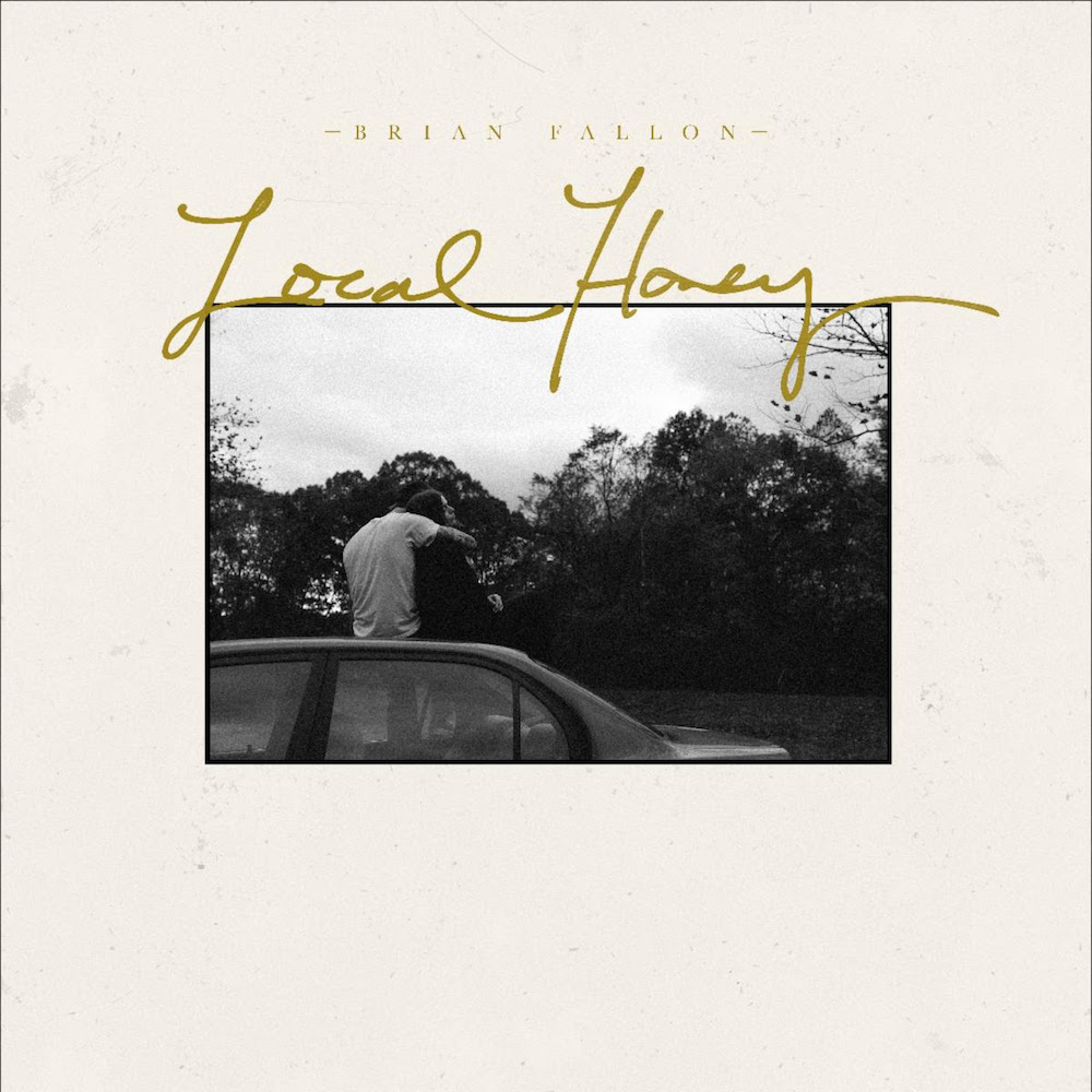 brian fallon local honey album artwork cover The Gaslight Anthems Brian Fallon announces new solo album Local Honey, plus 2020 world tour