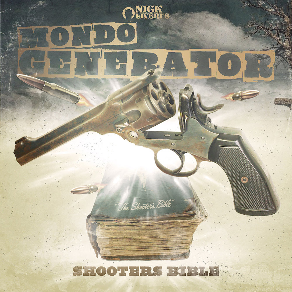 mondo generator shooters bible album artwork cover Nick Oliveris Mondo Generator return with new song Dead Silence: Stream