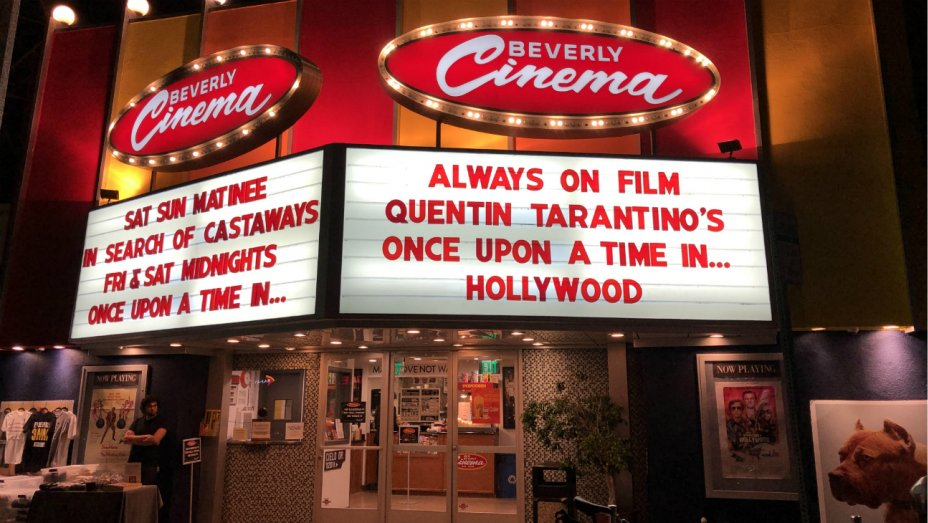 Los Angeles, Quentin Tarantino, New Beverly Cinema