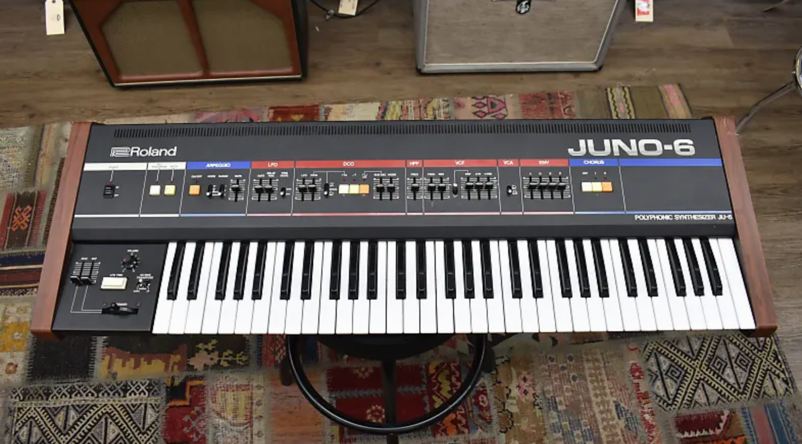 Roland Juno 6, photo by Reverb