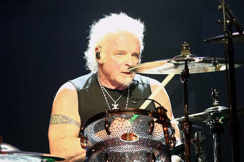 Aerosmith's Joey Kramer, photo via Getty