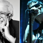Bernie Sanders Julian Casablancas The Strokes GOTV Rally New Hampshire