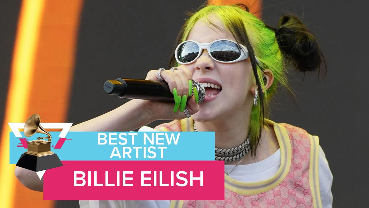 Best New Artist BIllie Eilish Grammys 2020