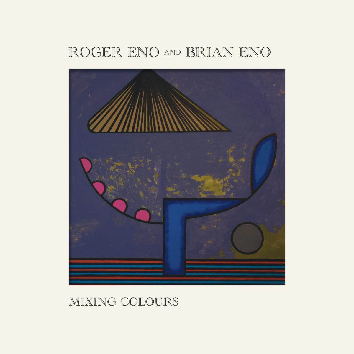 Brian Roger Eno Mixing Colours album cover artowrk