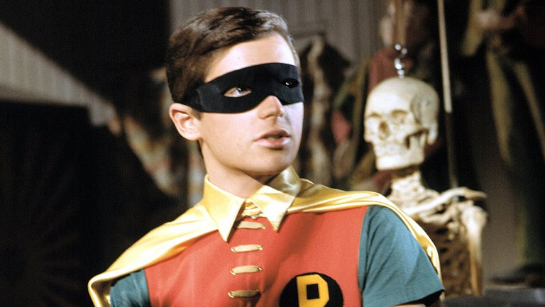Burt Ward of Robin