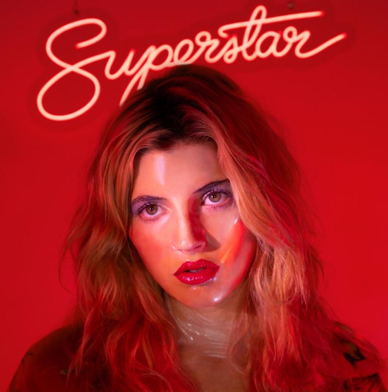 Caroline Superstar Album Artwork By Signe Pierce
