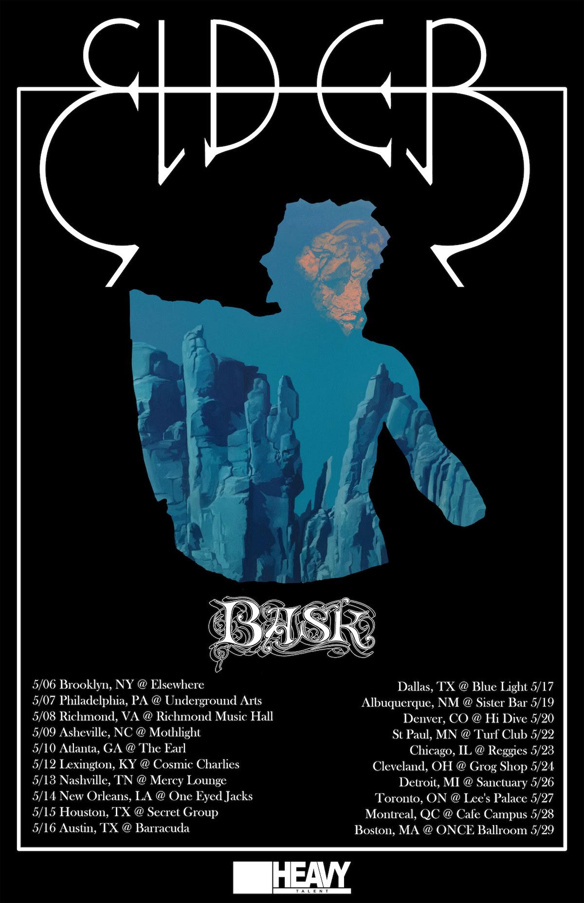 Elder tour poster
