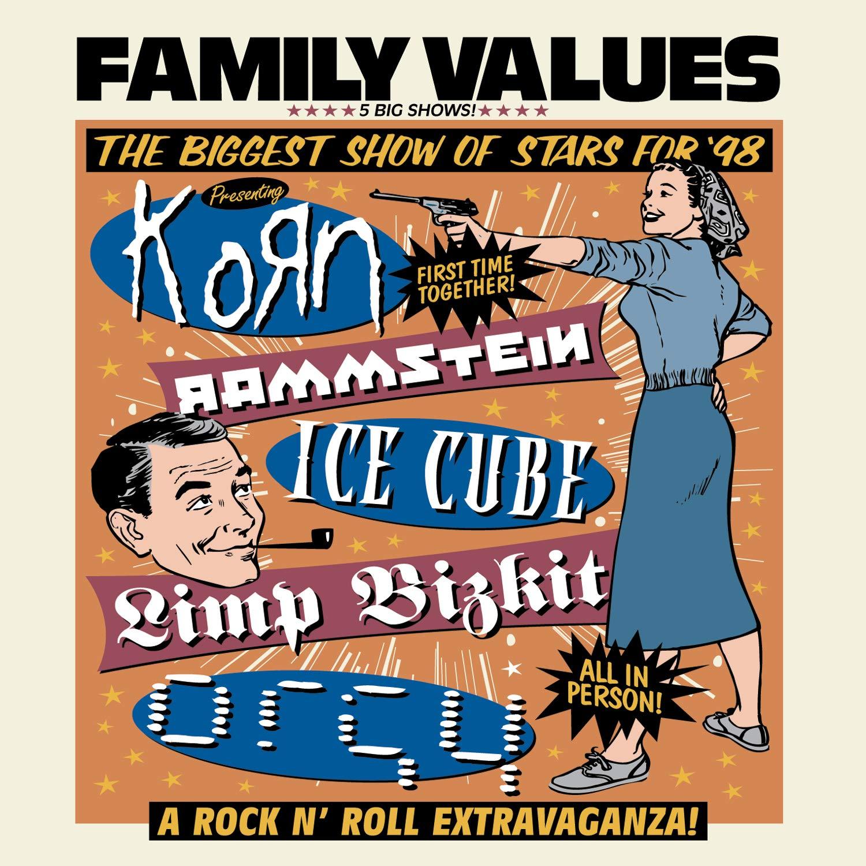 Family Values Tour Poster 1998