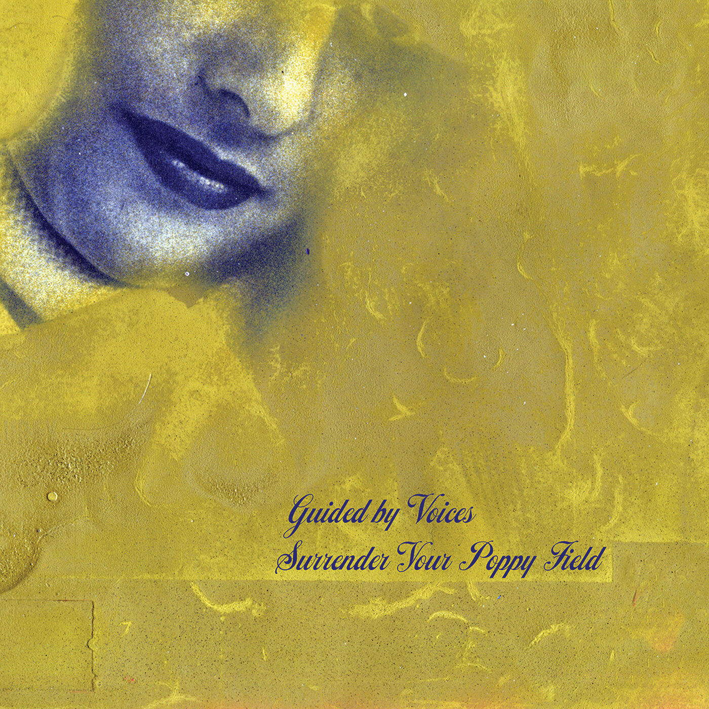 Guided by Voices Surrender your poppy field album cover artwork tickets tour