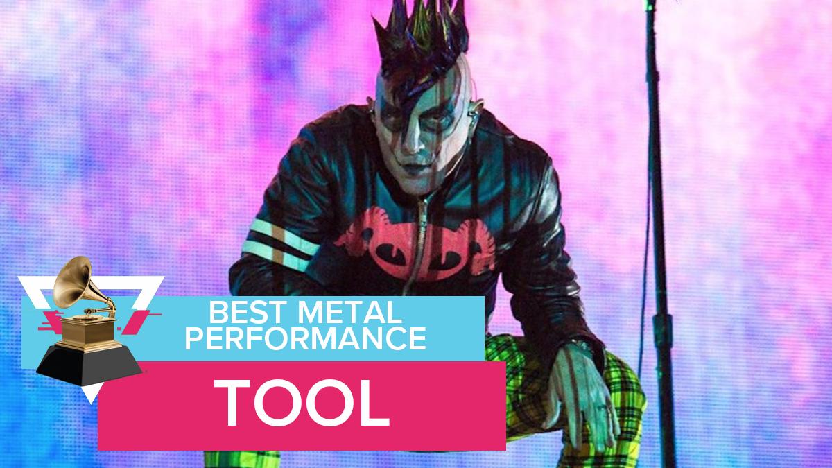 Metal perfomance Tool grammys