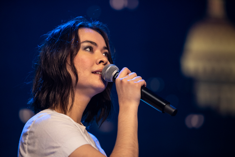 Mitski brings her dazzling live show to ACL: Watch