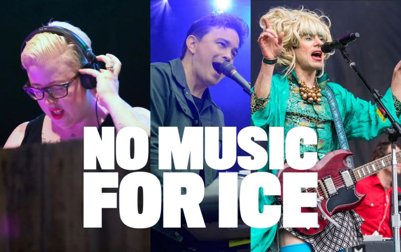 Musicians Amazon Protests No Music for ICE SXSW Black Madonna Wolf Parade of Montreal