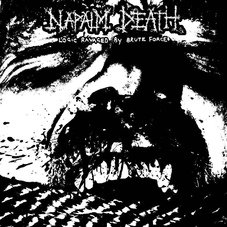 Napalm Death - Logic Ravages by Brute Force