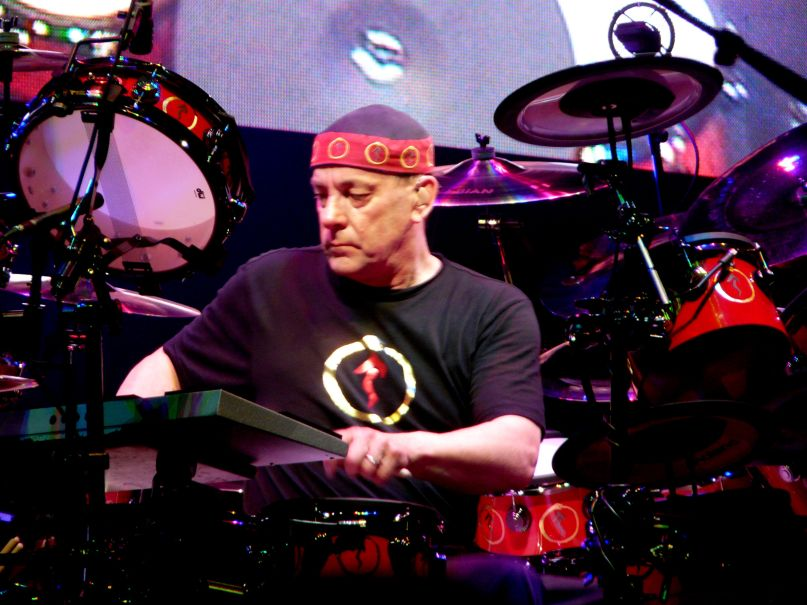 Neil Peart, photo courtesy of Wikipedia