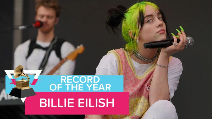 Record of the Year Billie Eilish bad guy