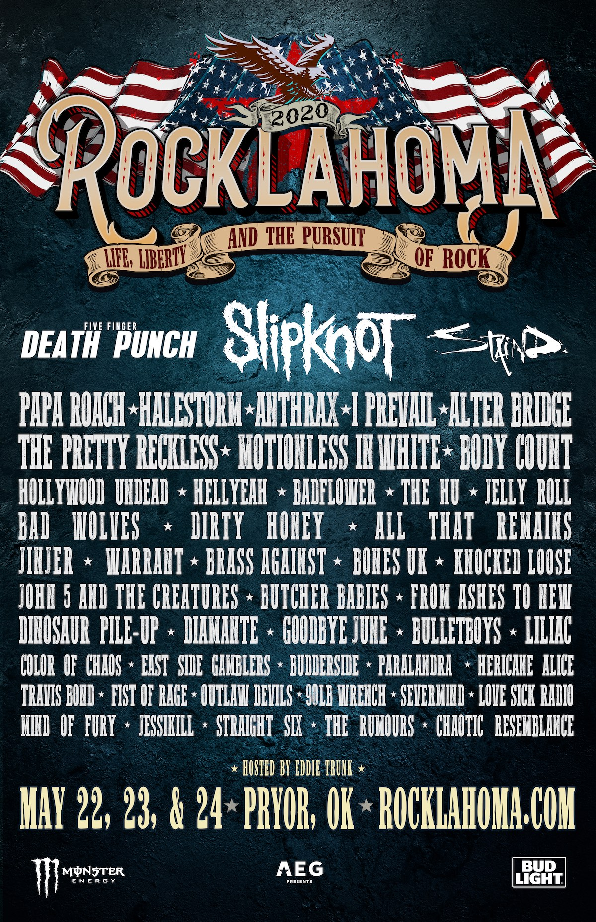 Rocklahoma 2020 Poster