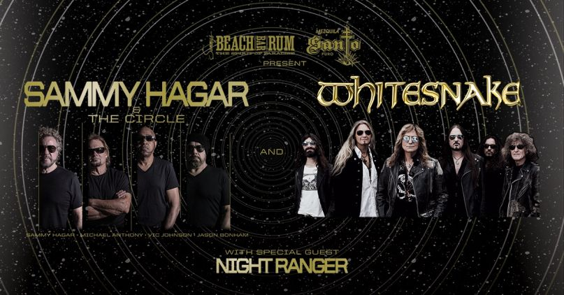 Sammy Hagar & The Circle and Whitesnake Tour