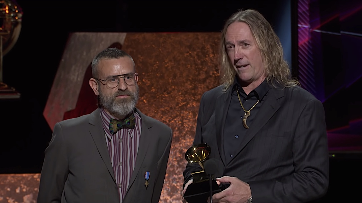 Danny Carey honors Neil Peart during Tool's 2020 Grammy acceptance speech: Watch